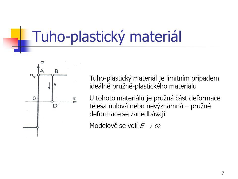 Tuho-plastický materiál