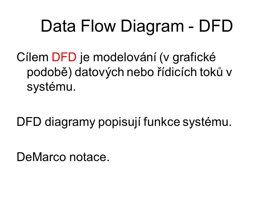 Data Flow Diagram - DFD