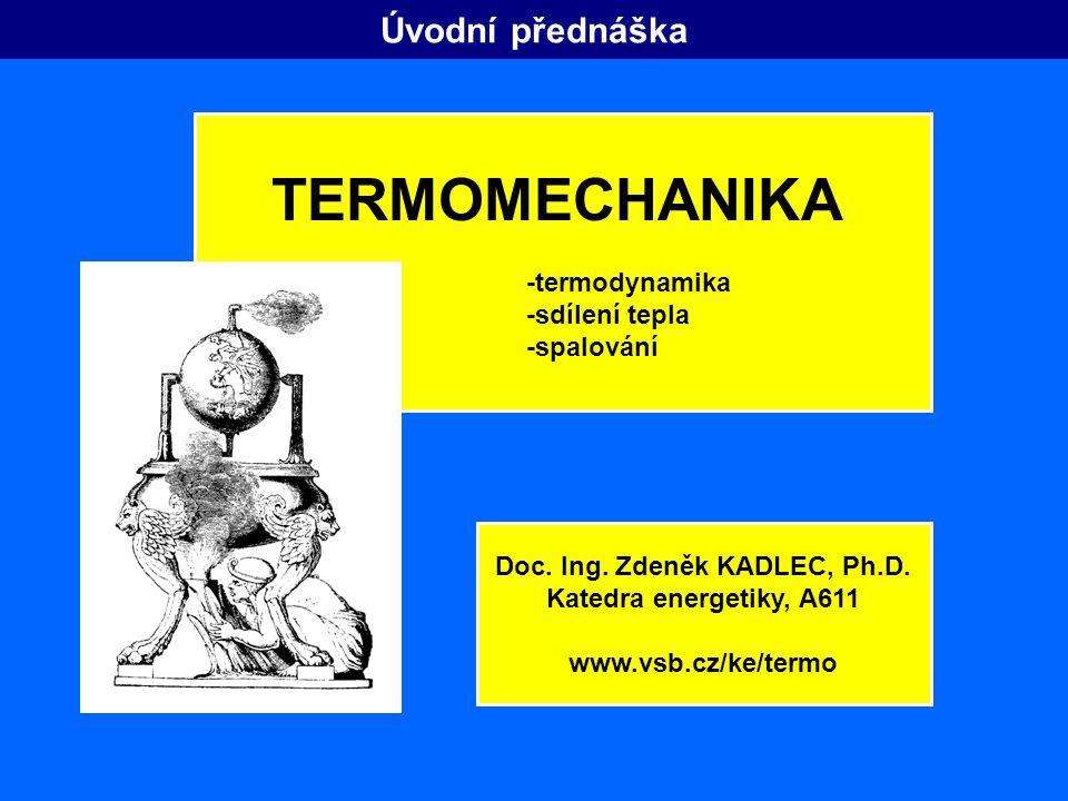 Doc. Ing. Zdeněk KADLEC, Ph.D.