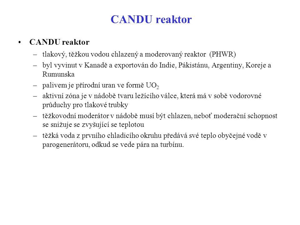 CANDU reaktor CANDU reaktor
