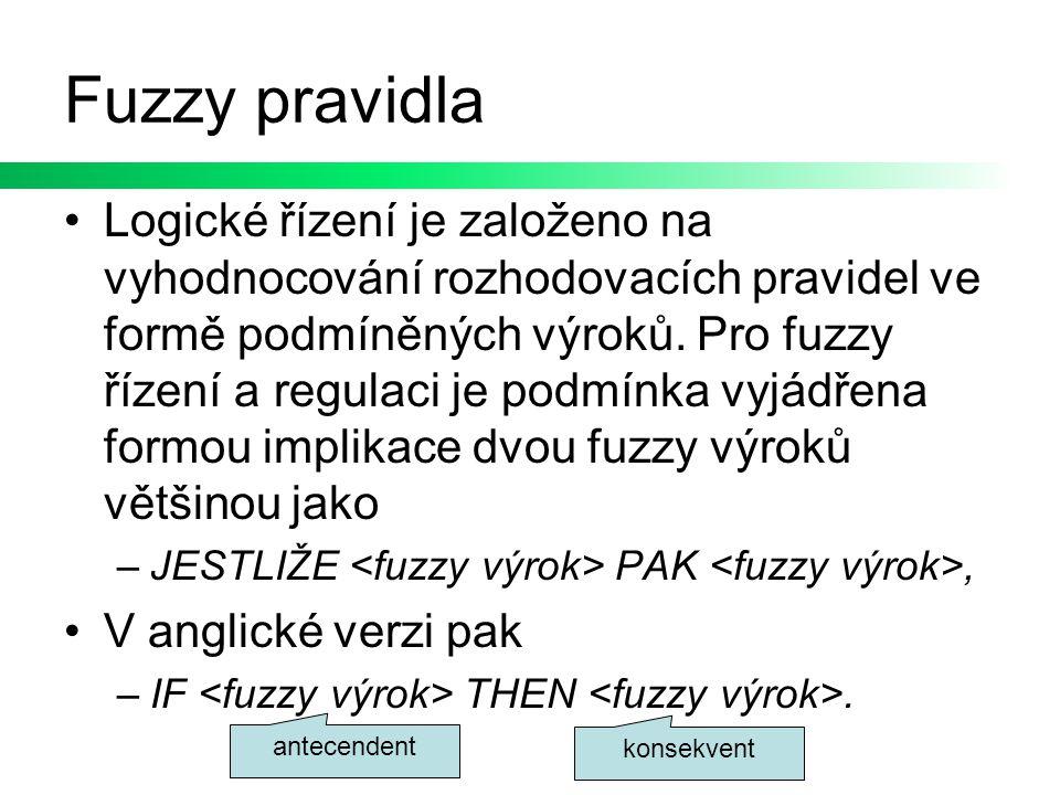 Fuzzy pravidla