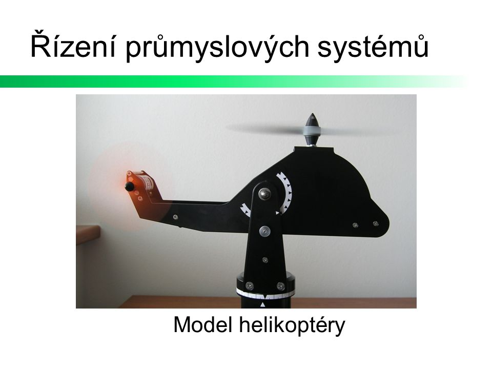 Řízení průmyslových systémů