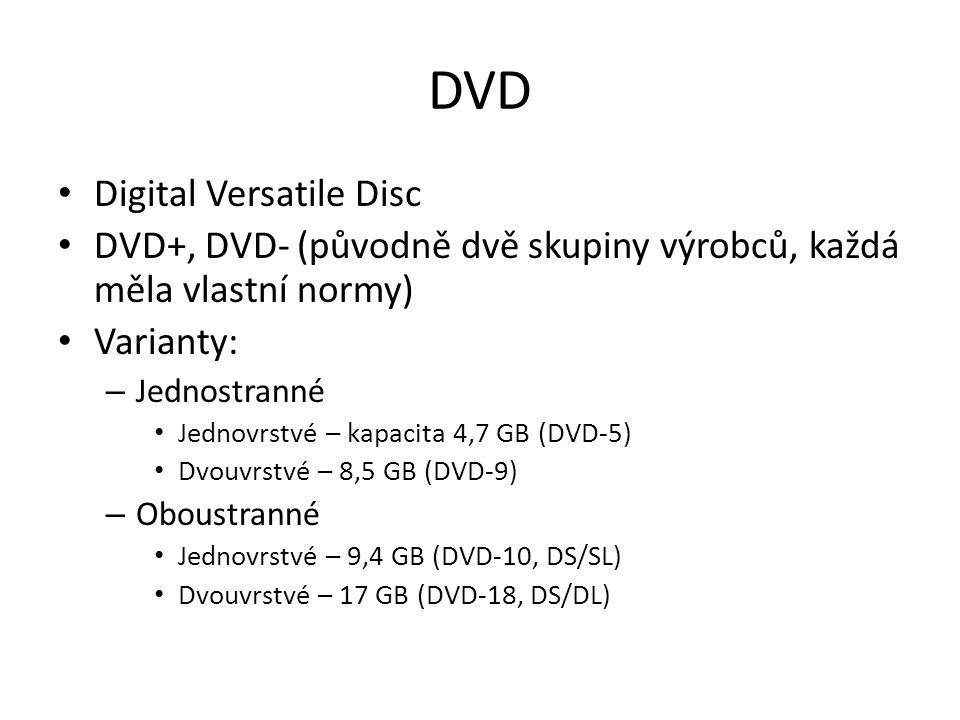 DVD Digital Versatile Disc