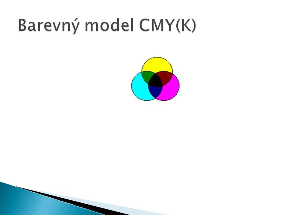 Barevný model CMY(K)