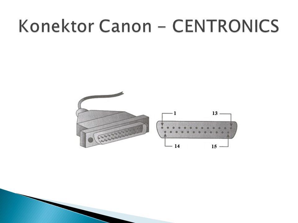 Konektor Canon - CENTRONICS