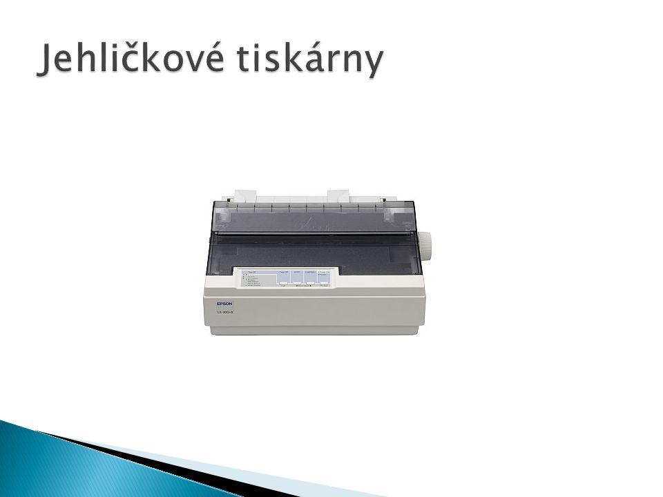 Jehličkové tiskárny