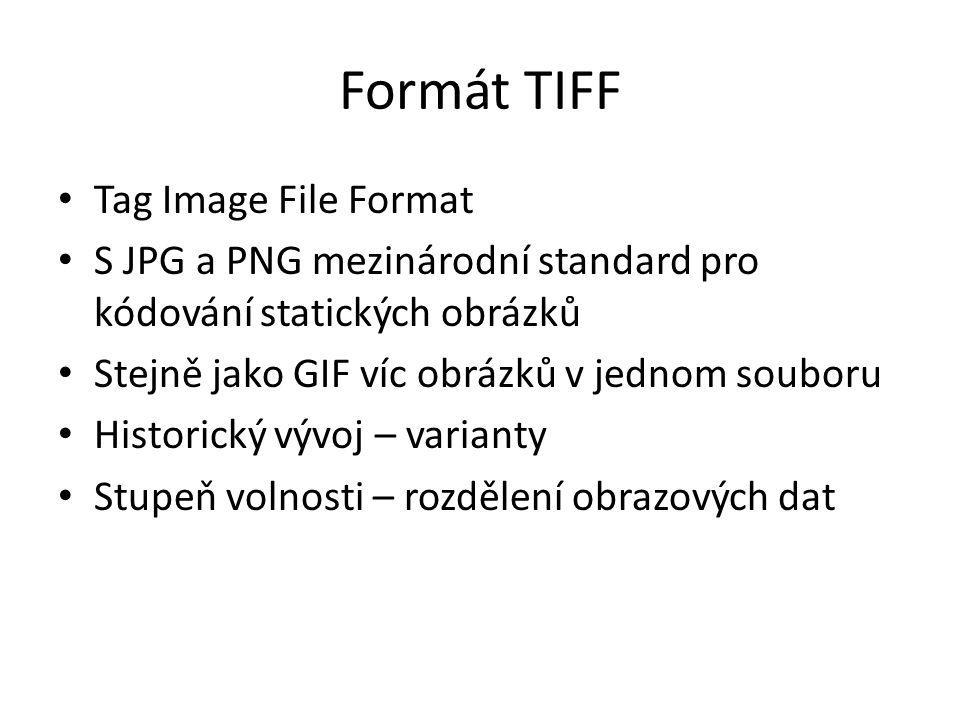 Formát TIFF Tag Image File Format