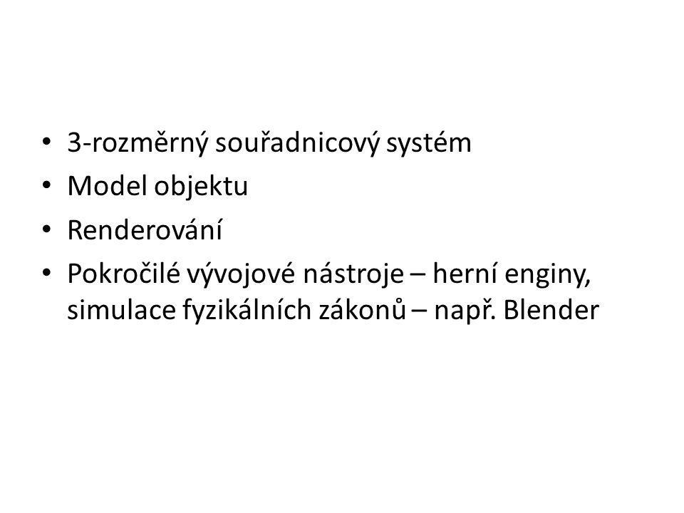 3-rozměrný souřadnicový systém