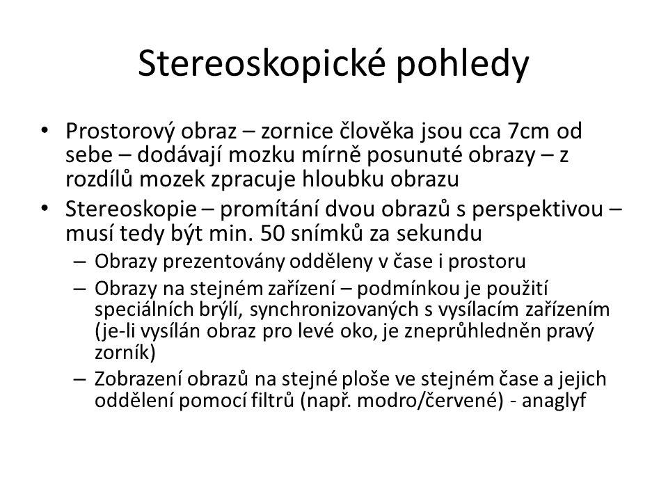 Stereoskopické pohledy