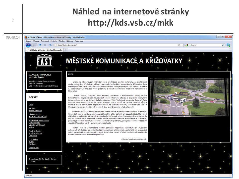 Náhled na internetové stránky http://kds.vsb.cz/mkk