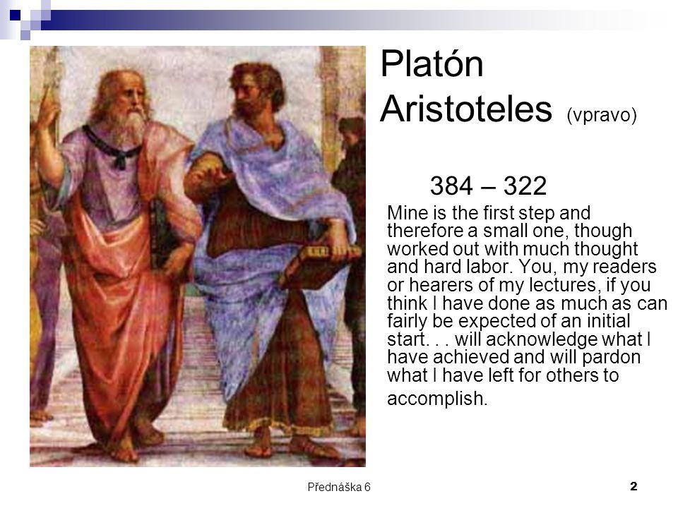 Platón Aristoteles (vpravo)