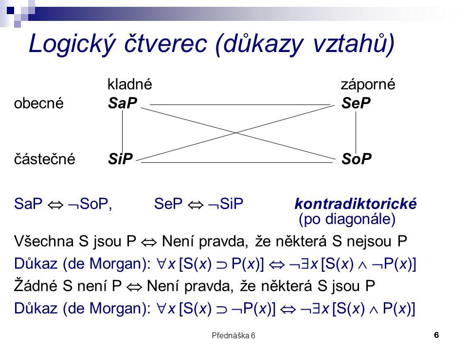 Logický čtverec (důkazy vztahů)