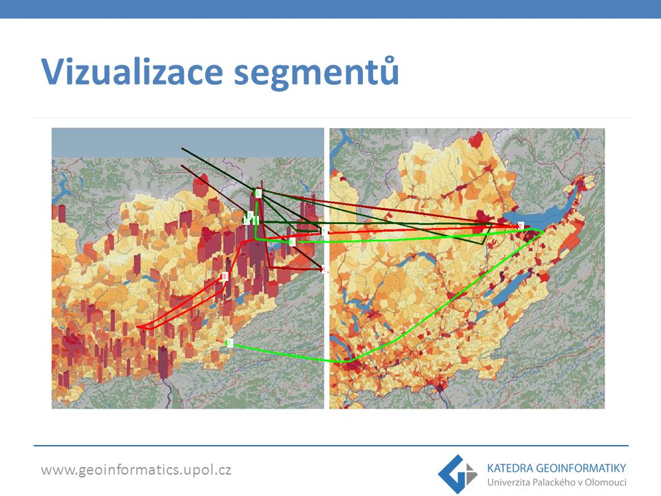 Vizualizace segmentů