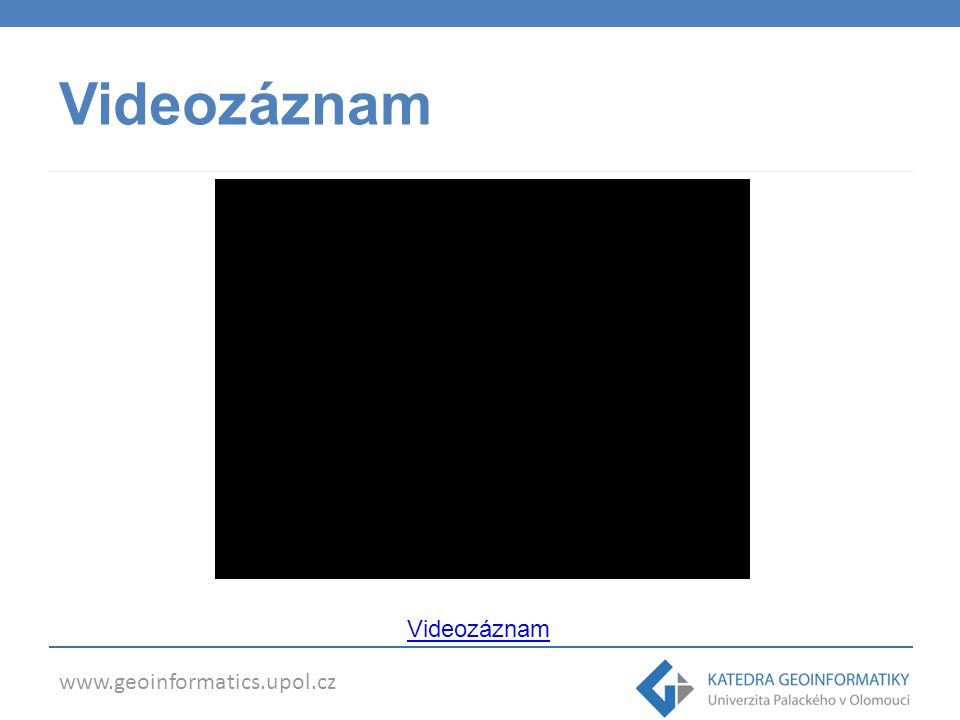 Videozáznam Videozáznam