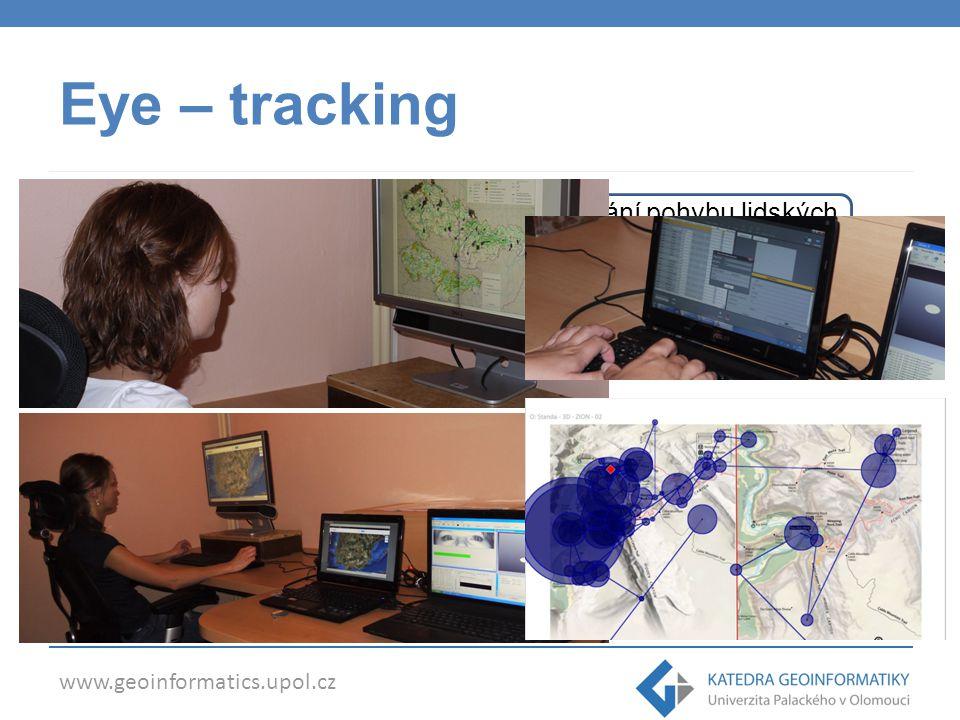 Eye – tracking Technologie založena na principu sledování pohybu lidských očí při vnímání obrazu a následném vyhodnocování.