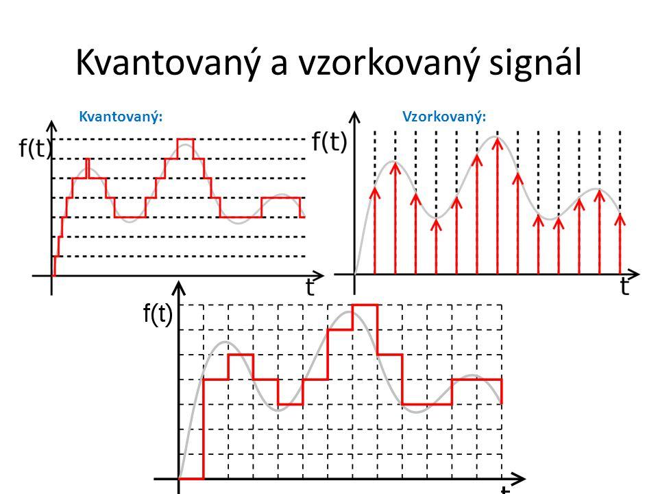 Kvantovaný a vzorkovaný signál