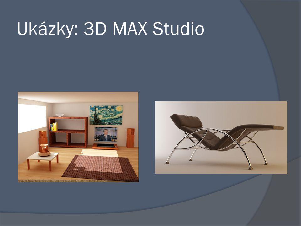 Ukázky: 3D MAX Studio