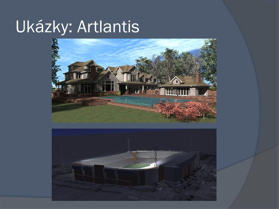 Ukázky: Artlantis