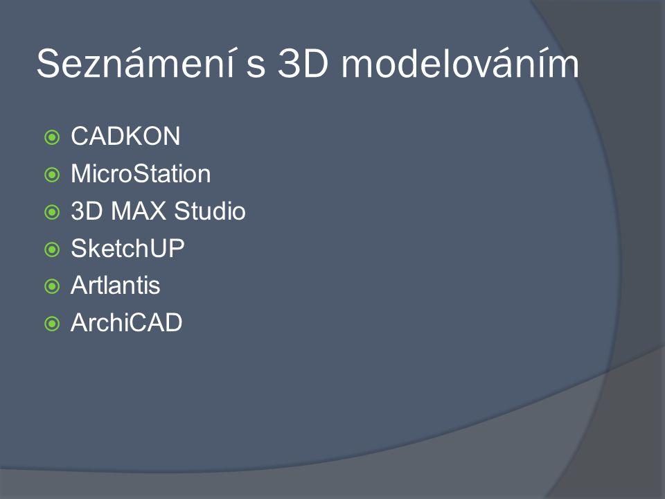Seznámení s 3D modelováním