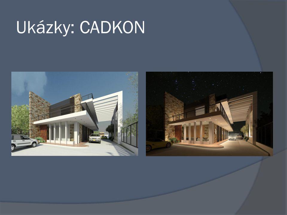 Ukázky: CADKON