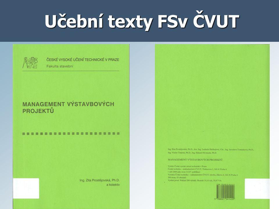 Učební texty FSv ČVUT