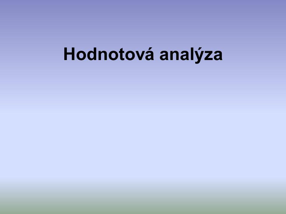 Hodnotová analýza