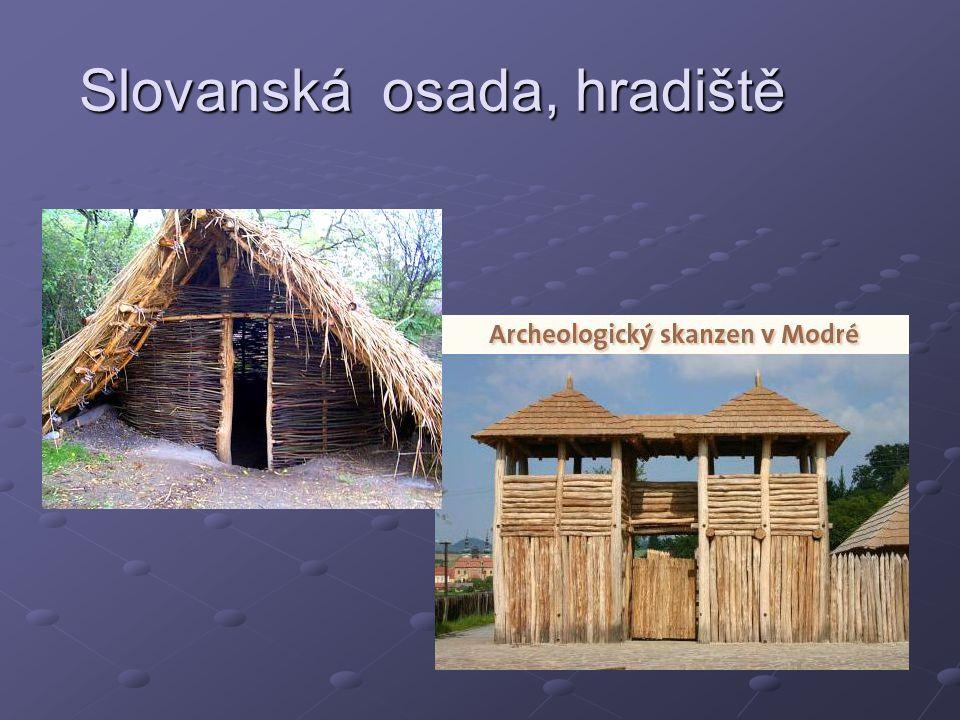 Slovanská osada, hradiště