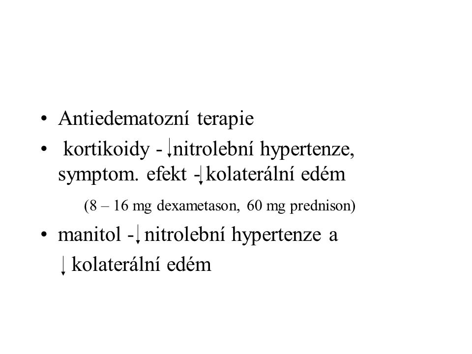Antiedematozní terapie