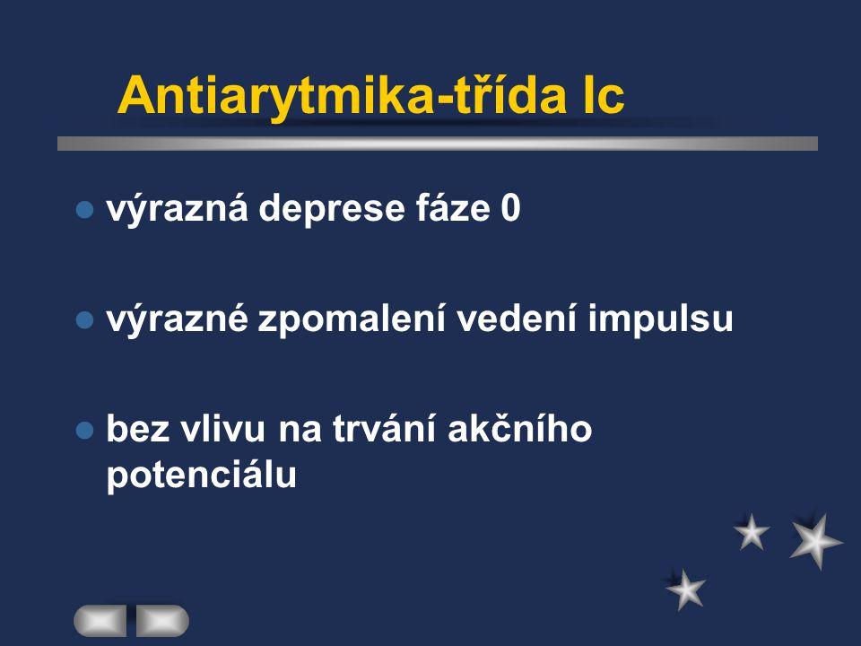 Antiarytmika-třída Ic