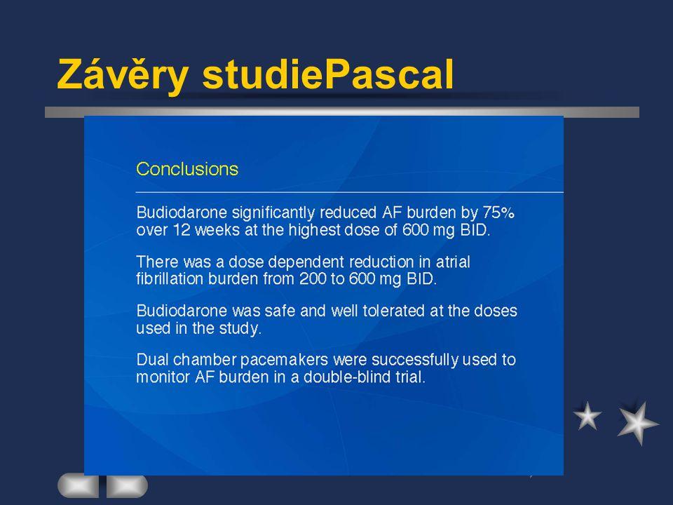 Závěry studiePascal
