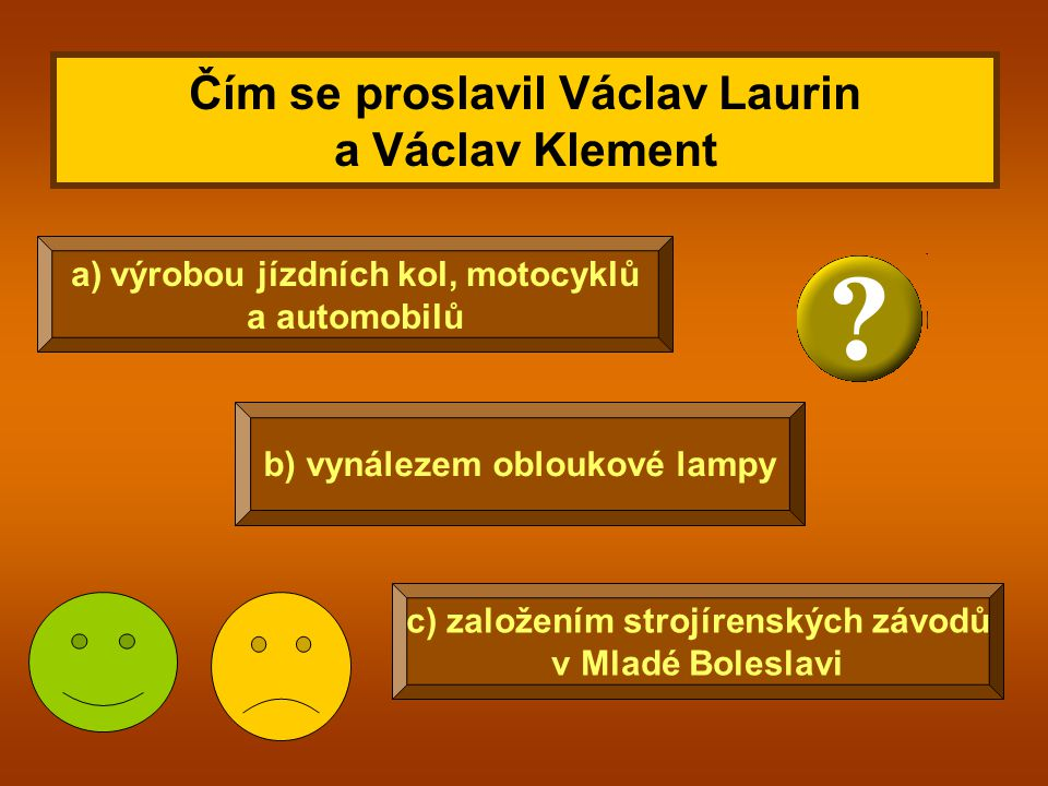 Čím se proslavil Václav Laurin a Václav Klement
