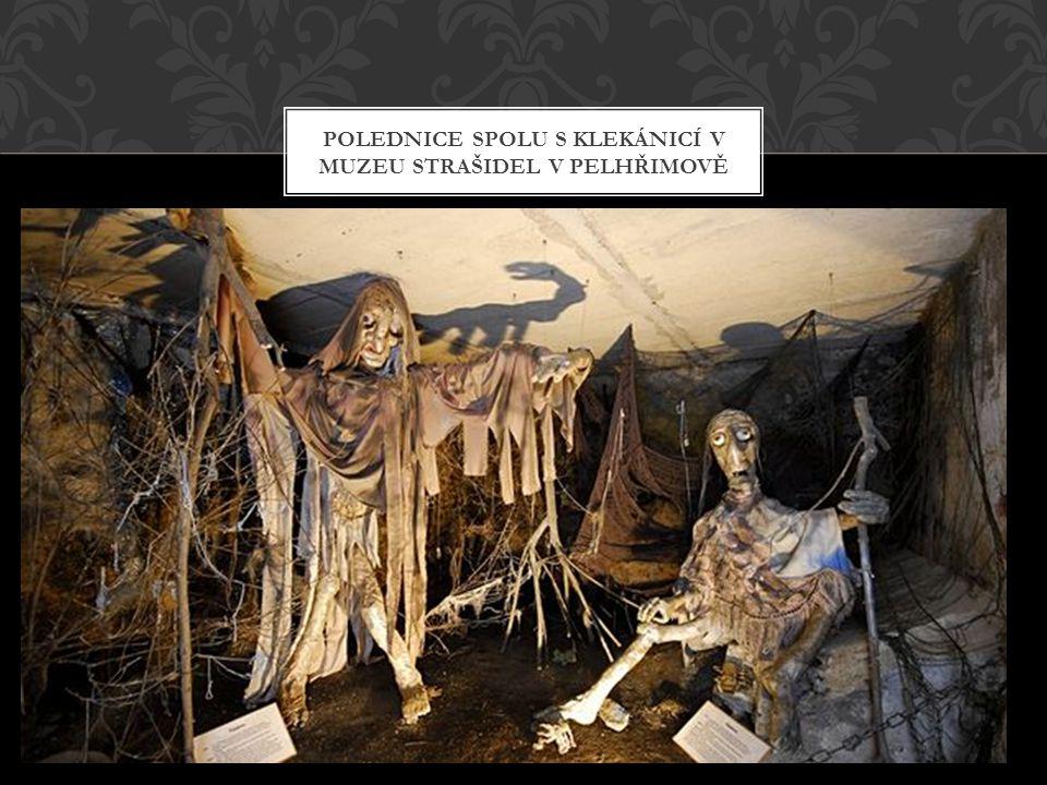 Polednice spolu s klekánicí v muzeu strašidel v pelhřimově