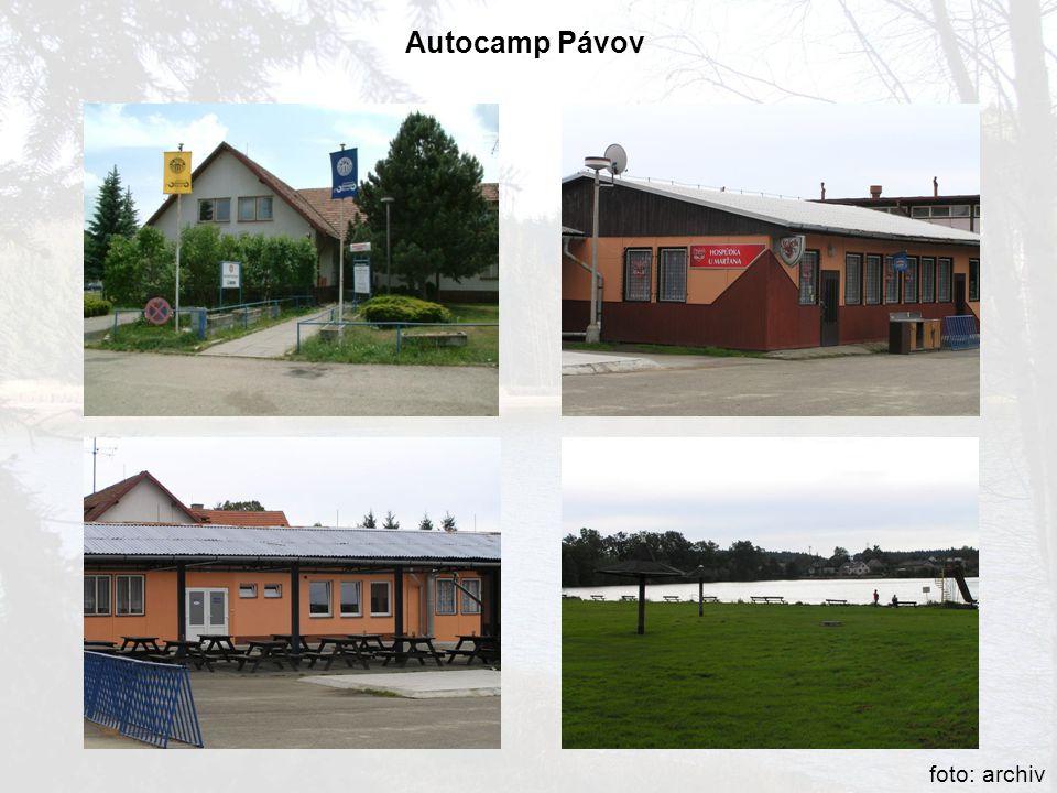 Autocamp Pávov foto: archiv