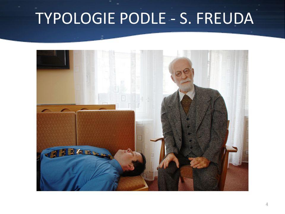 TYPOLOGIE PODLE - S. FREUDA