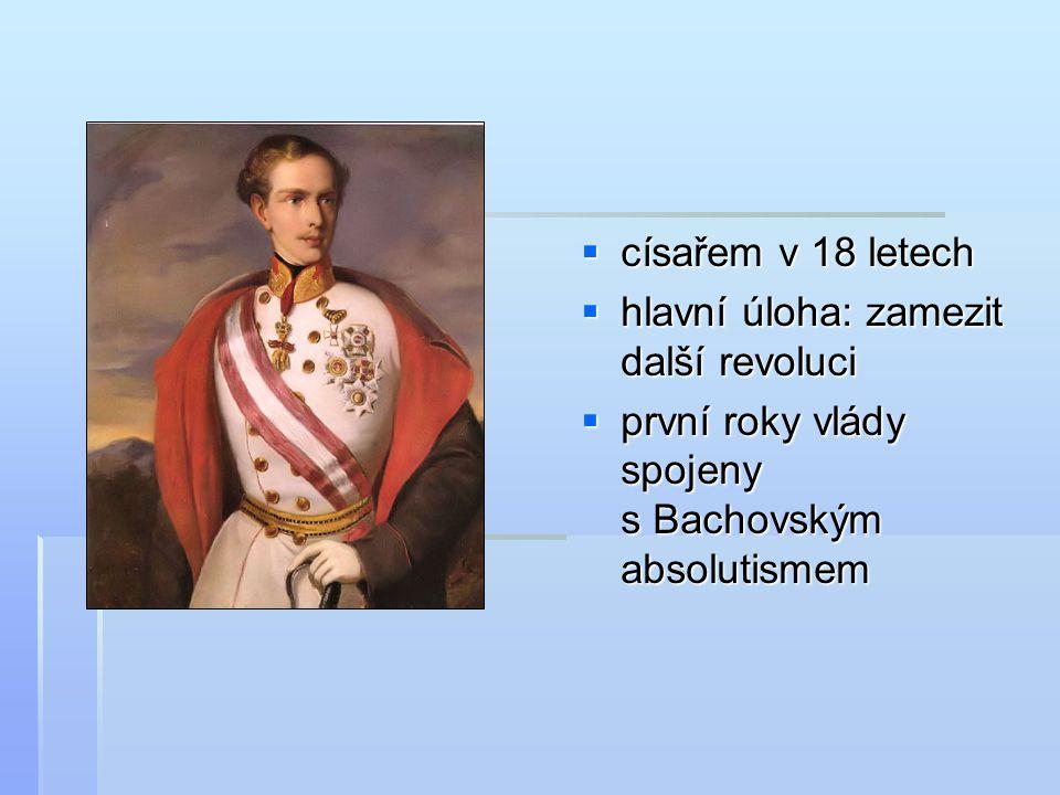 císařem v 18 letech hlavní úloha: zamezit další revoluci.