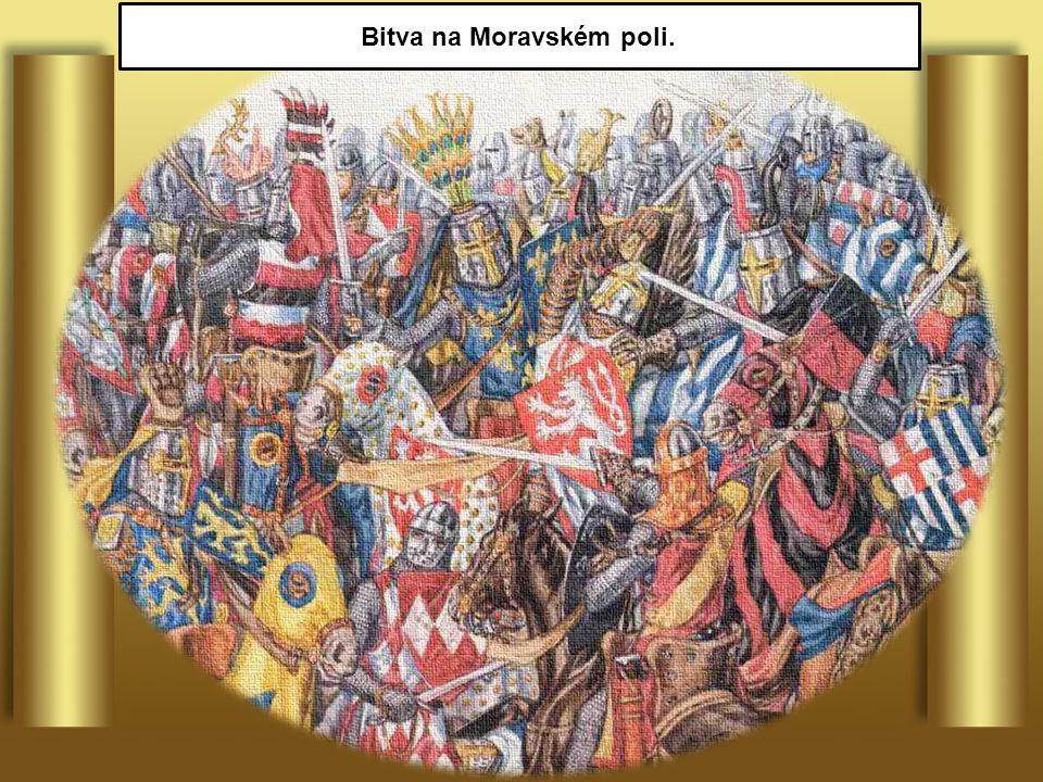Bitva na Moravském poli.