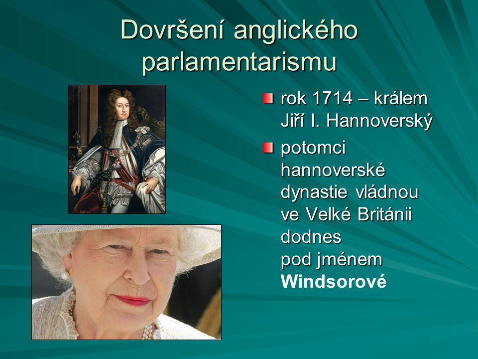 Dovršení anglického parlamentarismu