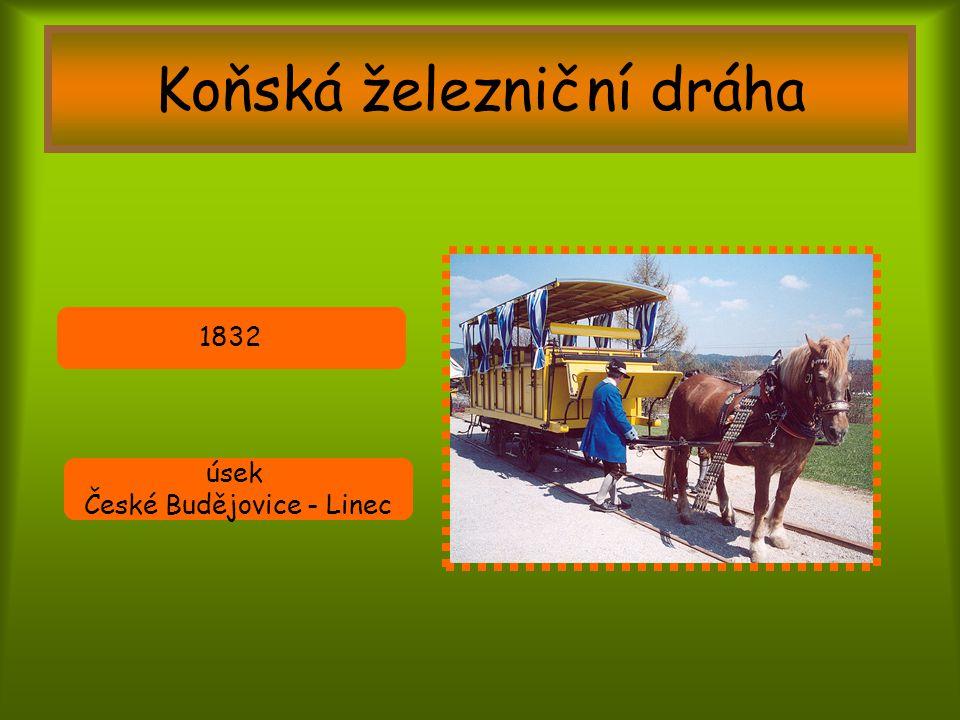 Koňská železniční dráha