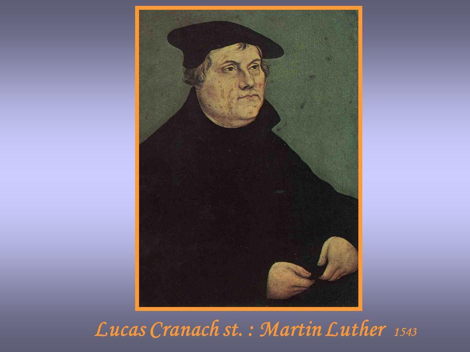 Lucas Cranach st. : Martin Luther 1543