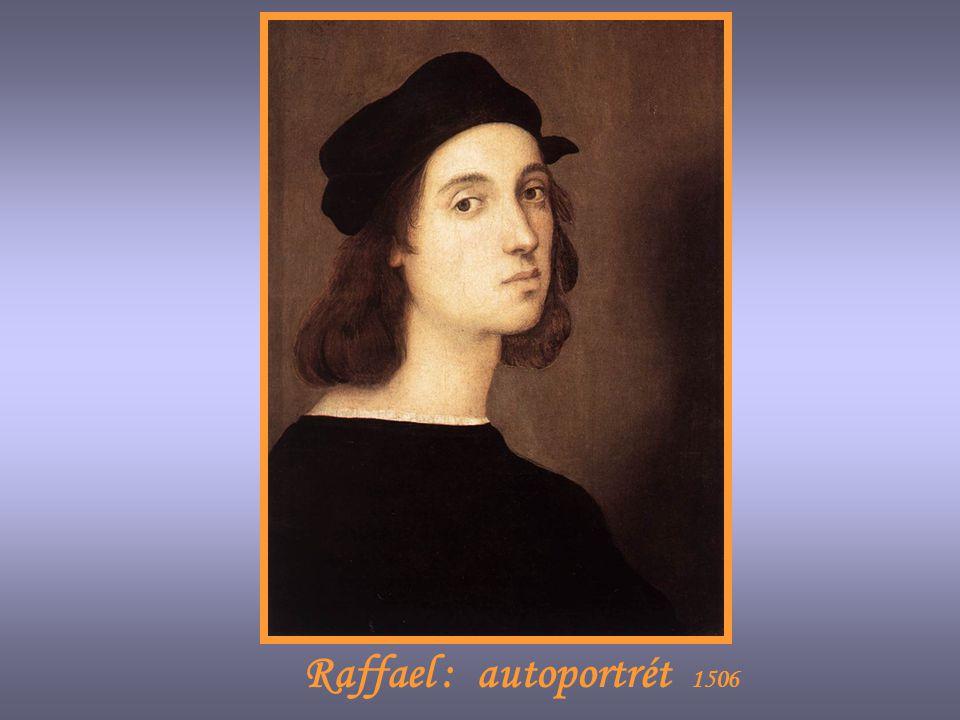 Raffael : autoportrét 1506