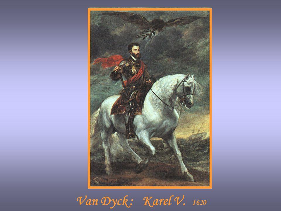 Van Dyck : Karel V. 1620