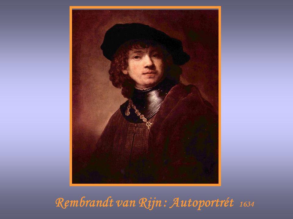 Rembrandt van Rijn : Autoportrét 1634