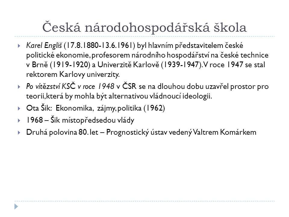 Česká národohospodářská škola