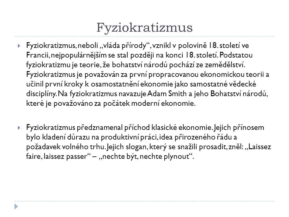 Fyziokratizmus
