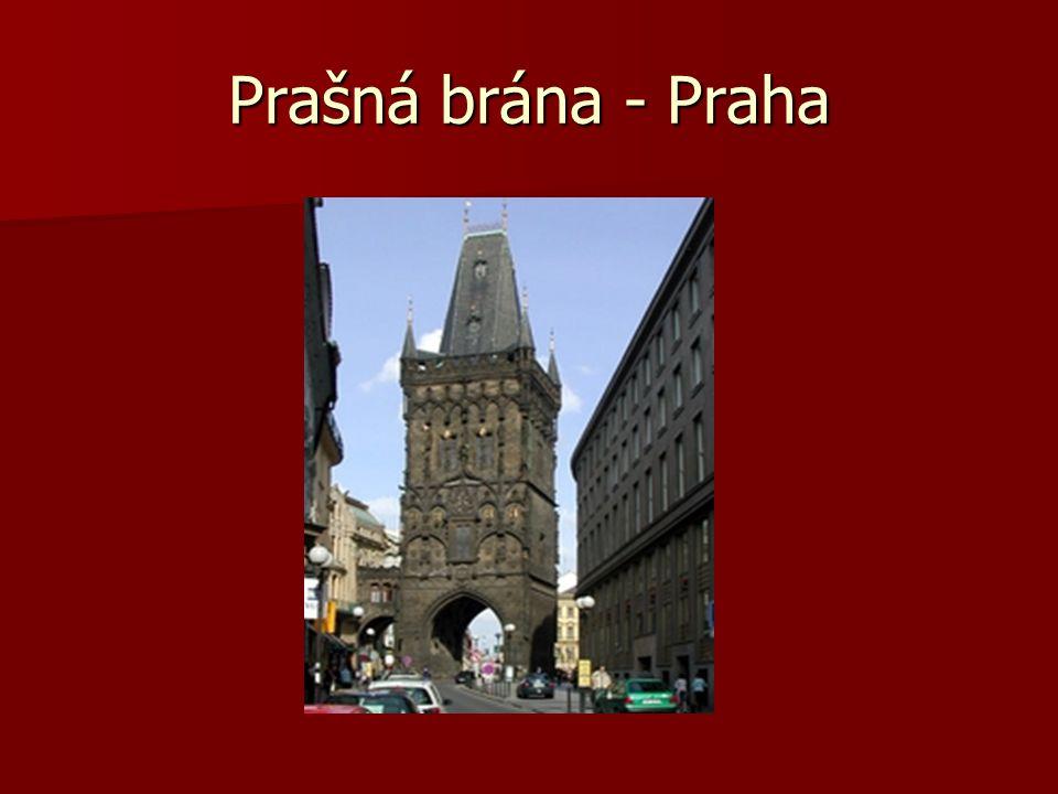 Prašná brána - Praha