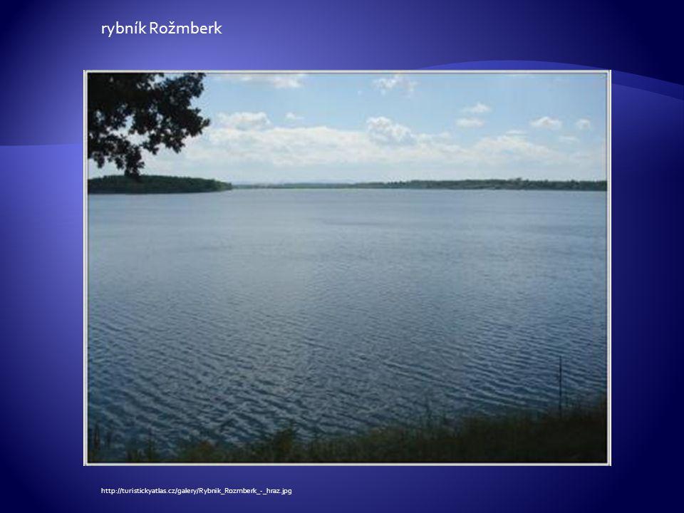 rybník Rožmberk http://turistickyatlas.cz/galery/Rybnik_Rozmberk_-_hraz.jpg