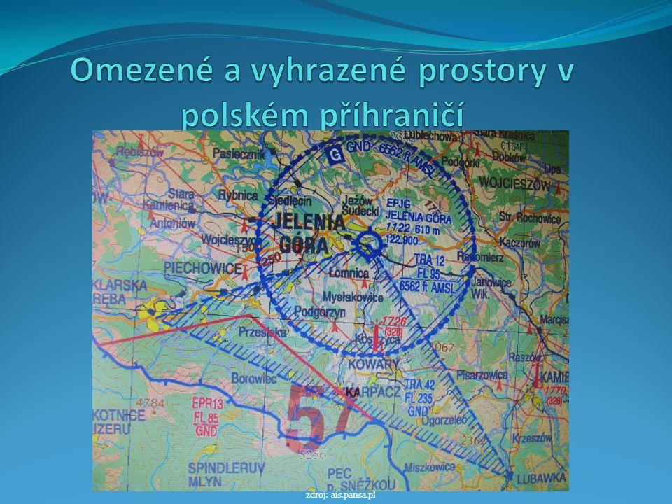 Omezené a vyhrazené prostory v polském příhraničí