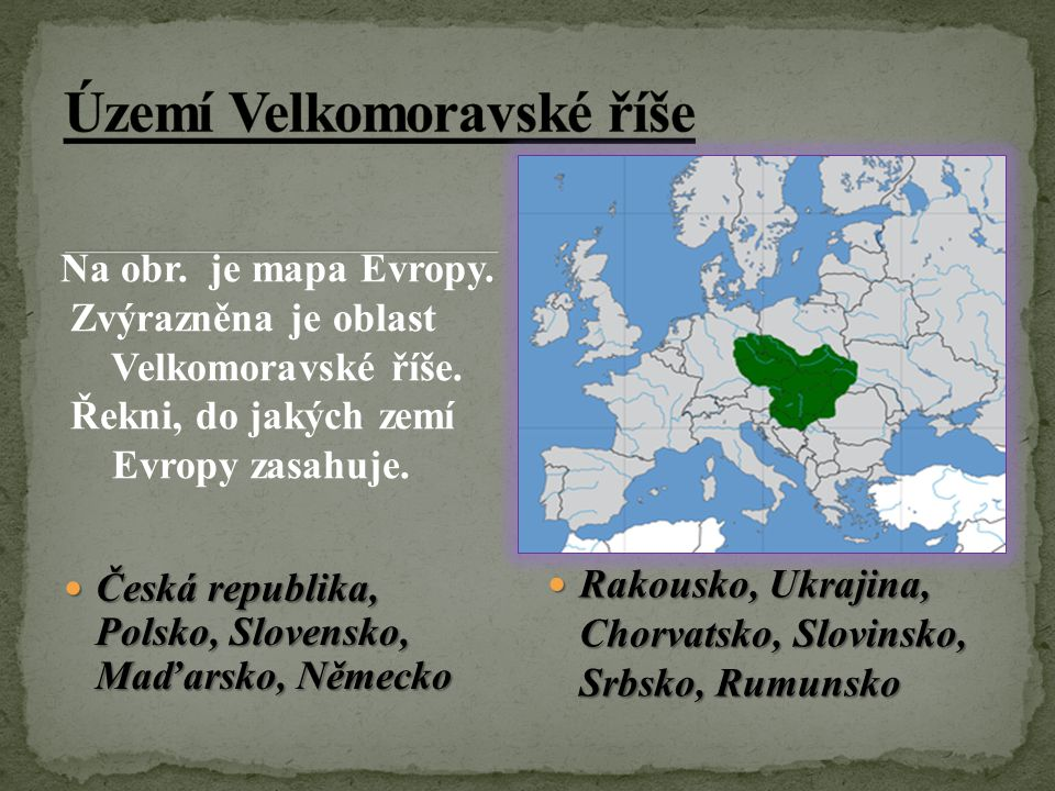 Území Velkomoravské říše