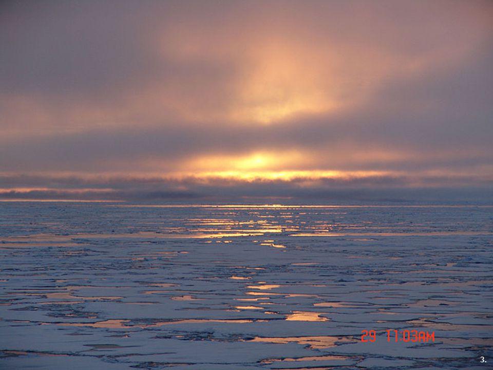 Severní ledový oceán Atlantský oceán 1. 3. 2.