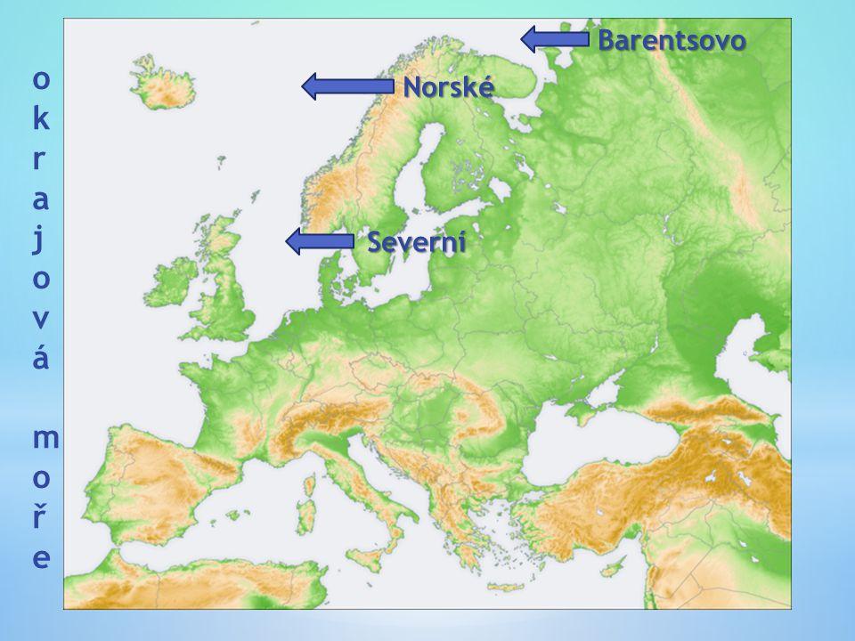 Barentsovo okrajová moře Norské Severní